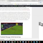 Football Manager 2018 Serial key With Keygen Full Free Download