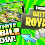 Get FORTNITE MOBILE Game Now – Download Link on iPhone, iPad, iPod Touch