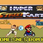 Hyper Street Kart – Awesome Mario Kart Hack SNES – RetroPie Retro-Cade Or Analogue Super NT