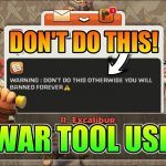 DONT DO THIS WITH WAR TOOL HOW TO USE WAR TOOL? BEST USE OF WAR TOOL
