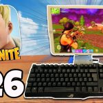 KEYBOARD MOUSE On Fortnite Mobile iPad iPhone Fortnite Battle Royale IOSAndroid Part 26