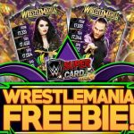WRESTLEMANIA 34 (WM34) FREEBIE NEW EVENT COMING WWE SuperCard S4