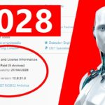 Eset Nod32 Antivirus License Key Until 2028 Working All Version