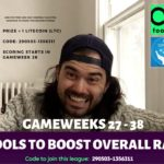 FPL 201819 Fantasy Premier League GAMEWEEK 27 – 38: 6 Tools to improve OR and finish strong