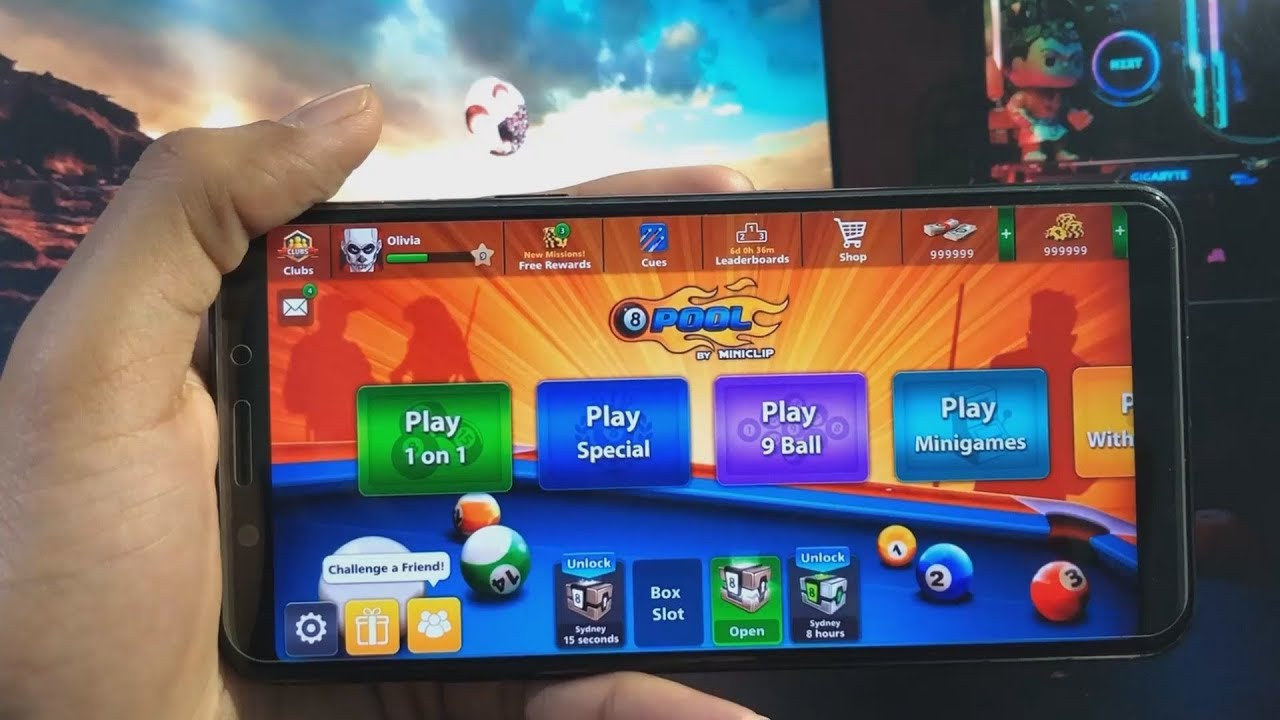 8 Ball Pool Cheats Android 2018 8 ball pool hack 2019 - 999,999 free cash coins cheats - how