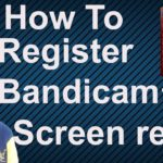 How to register for Bandicam for free 2019