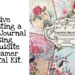 Live Creating a junk journal using the Exquisite Dreamer Digital download by Calico Collage.
