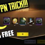 NEW TRICK TO GET FREE ITEMS NEW VPN TRICK APRIL 24 100 WORKING – PUBGM