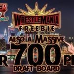 WWE SUPERCARD: WM35 FREEBIE + OVER 700 WM35 PICKS
