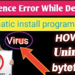 how to delete bytefence anti malware 100 working
