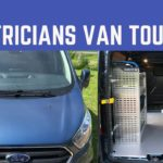 Electricians Work Van Tour – Ford Transit Custom 2019 with Sortimo Racking