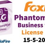 FoxitPhantomPDF 9.5.0 License key 2019