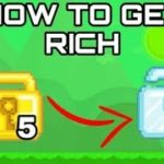 Growtopia – How To Double Your WLS (100 WLS Everyday) ( Growtopia How To Get Rich Fast 2019 )