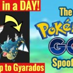 How To Evolve Magikarp to Gyarados in a day – Pokemon Go iSpoofer