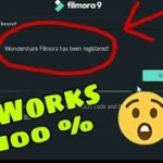 How to activate Wondershare Filmora 9 Serial Key