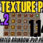 How to get PvP Texture Pack in Minecraft 1.14.2 – download install Animated Rainbow PvP Pack 1.14.2