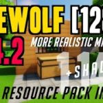 How to make Minecraft More Realistic in 1.14.2 – download install Firewolf 1.14.2 HD resource pack