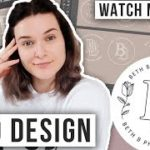 Watch Me Design a Logo: Using Adobe Illustrator Procreate