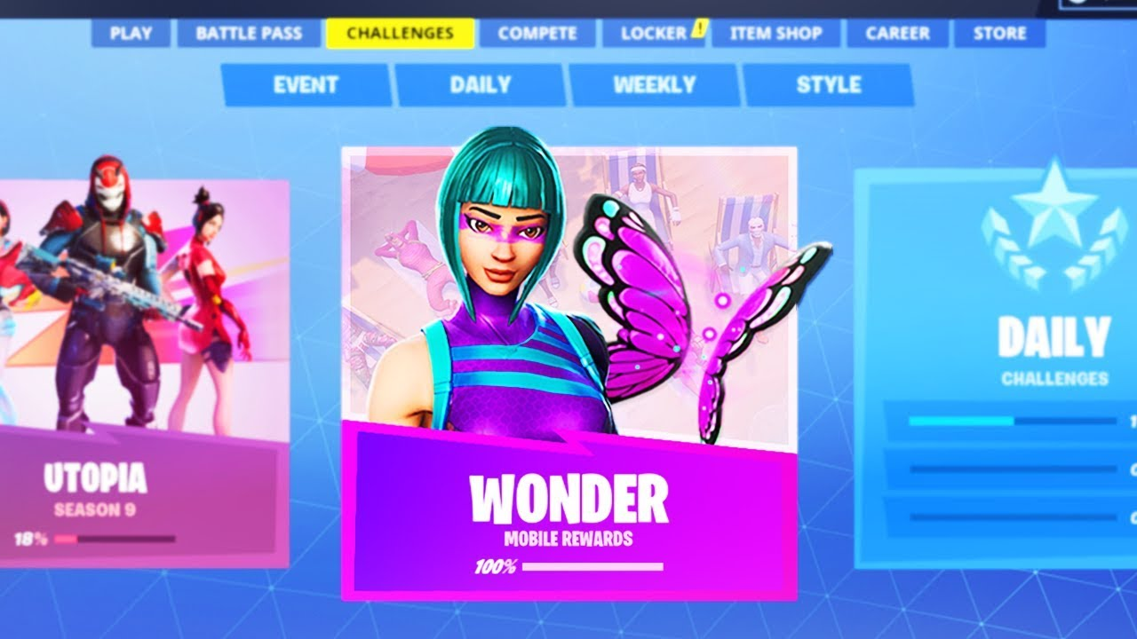 YOU CAN GET THE WONDER SKIN FREE In Fortnite Right Now ...