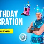 Claim the FREE BIRTHDAY ITEMS in Fortnite (6 FREE ITEMS)