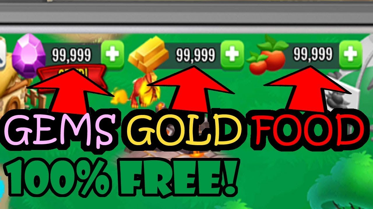 Dragon City Hack Free Gold Gems And Food For Androidios Cheats 2019