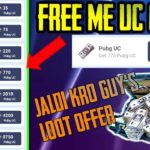 Free🔥Unlimited PUBG UC CASH 💵 New Application DailyFree Uc Cash🔥8100 UC FOR FREE SPECIAL VDO