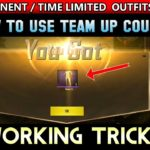 Get Free Outfits BagPack Skin Free How To Use Team-Up Voucher