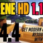 How to get Modern Realistic Textures in Minecraft 1.14.4 – download install Serene HD 1.14.4