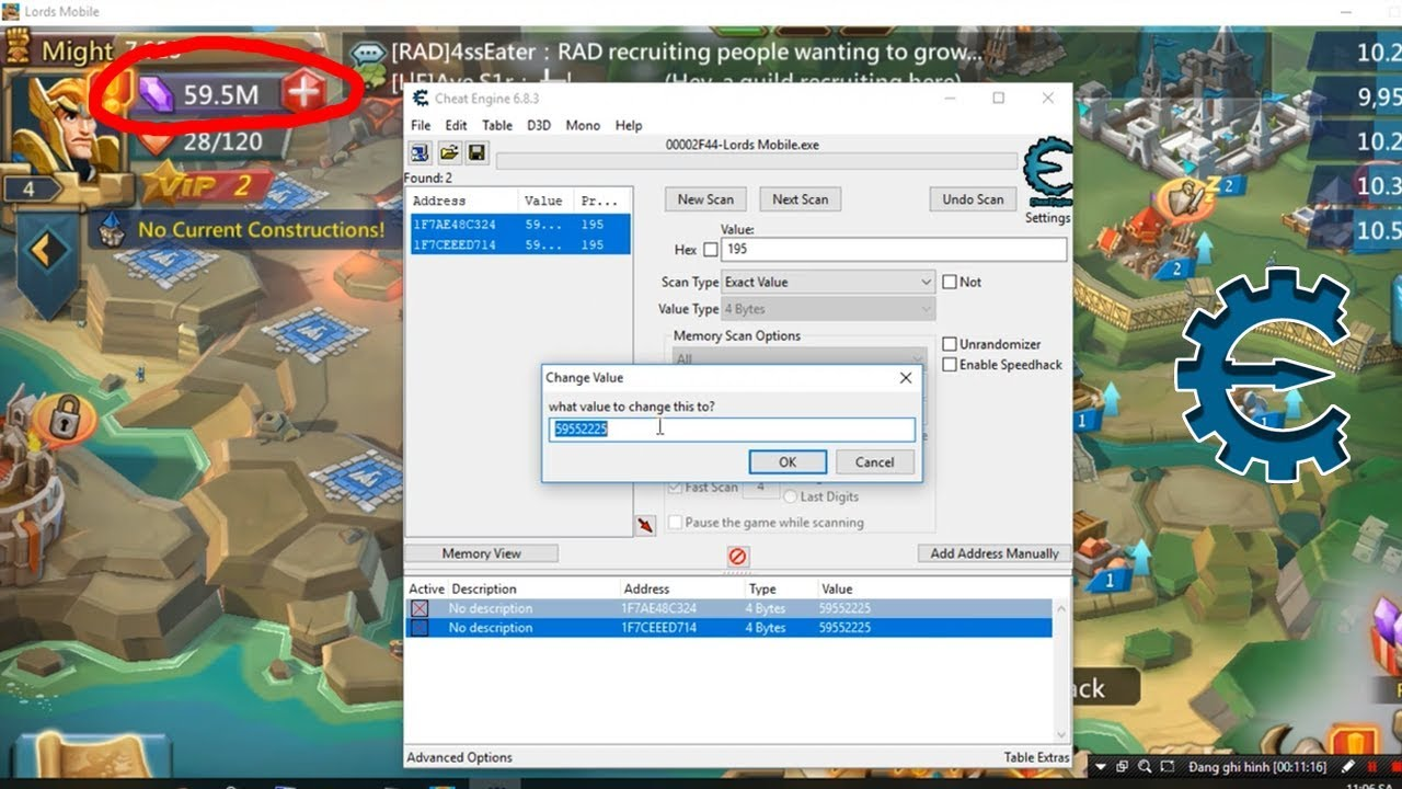 cheat engine roblox jailbreak download Lords Mobile Hacks Get 595m Diamonds Free On Pc With Cheat Engine