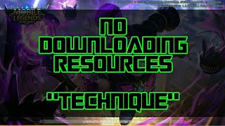 No Downloading Resources Tutorial No Downloading Resources In