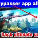PUBG Mobile hack ultimate uc trick bypasser app all information Android and iOS