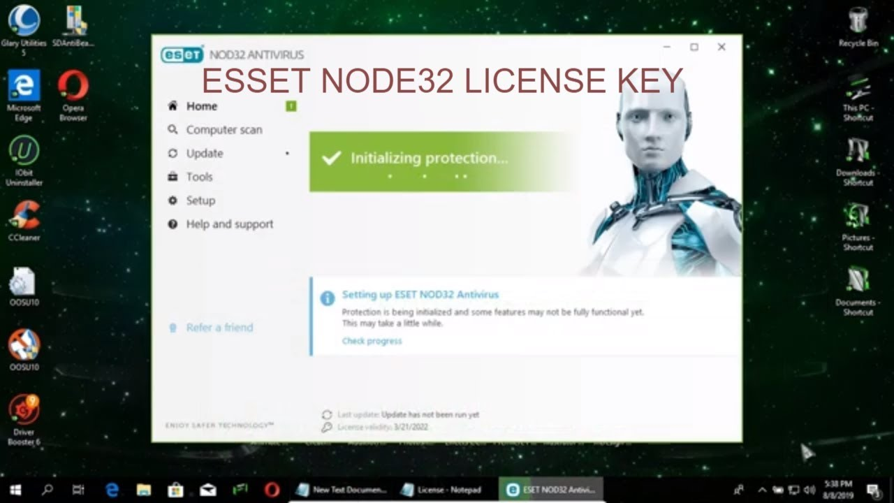 ESET NOD32 license key 2020: ESET NOD32 Antivirus License ...