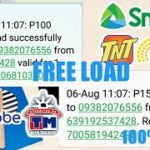 FREE LOAD SA LAHAT NG NETWORKSun,Globe,TM,Smart,TNT(LEGIT APPLICATION 2019)