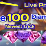 Free Fire Free 100 Diamond💎 Newest trick, 100 live proof• game or gyan