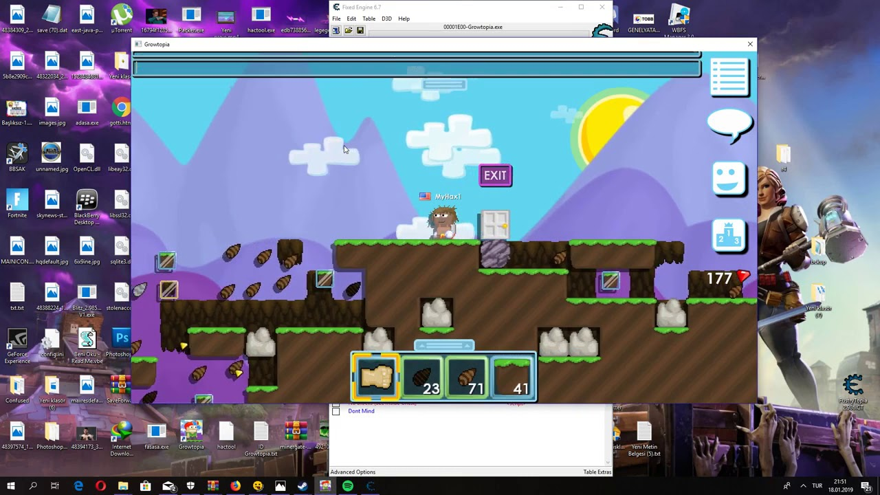 Growtopia Trainer Pc With 1hit New Undetected