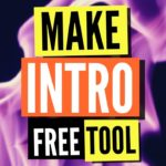 Making Intro For Indie Game Channel FREE TOOL 2019