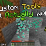 How To Make Custom Tools Function Correctly In MCPE
