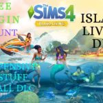 Sims 4 With All Expensive and Stuff With Island Living Free Origin Account 2019
