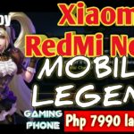 Xiaomi Redmi Note7 -murang gaming phone – Mobile Legend Test Part: 1