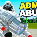 ADMIN ABUSE Talent Show – Gmod DarkRP Super Badmin (Trolling Players In A Talent Show FREE STUFF)
