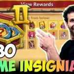 JTs F2P 30 Insignia Packs INSANE Hero Collector Castle Clash