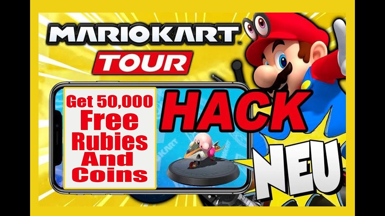 Mario Kart Tour Hack Get 50 000 Free Gold Rubies With This Cheat Iosandroid
