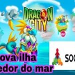 Dragon city-ilha corredor do mar e resposta da social point