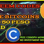 MOBILE LEGENDS REDEEM CODES OR FREE BITCOINS AND 50 LOAD