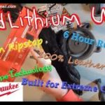 Milwaukee RedLithium 561-21 Heated Gloves A Must Have For Winter No More Cold Hands