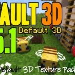 How to get 3D Textures in Minecraft 1.15.1 – download install Default 3D 1.15.1 texture pack