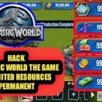 How to hack Jurassic World The Game All Resources Unlimited Permanent
