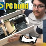 I built an AWESOME gamingstreaming PC in an IKEA Alex drawer (With Benchmarks)