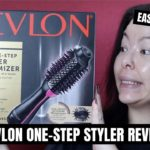 REVLON ONE-STEP HAIR DRYER VOLUMIZER REVIEW Easy for Beginners? Mikilea