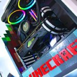 1850 CUSTOM Minecraft Themed GAMING PC Build – Do You Want This?